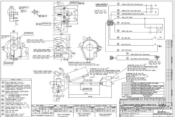 Schema Elettrico Yamaha Tzr 50 : Schema electrique tzr