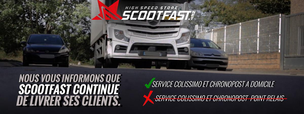 image d'annonce que scootfast continue de livrer ses clients durant l'épidémie COVID-19