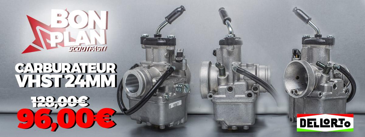 Image de présentation du bon plan discount carburateur VHST 24mm