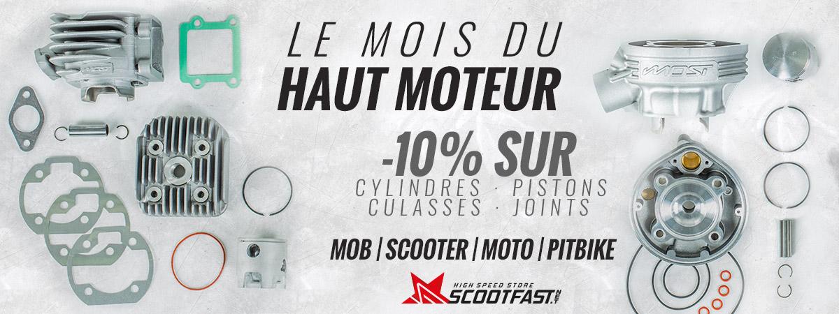 Image de présentation de la promotion sur toutes les pièces de haut moteur pour 50cc moto, scooter, mob et pit bike