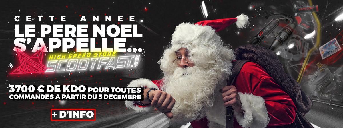 Image d'expliaction des cadeaux de noel scootfast à gagner durant le mois de décembre