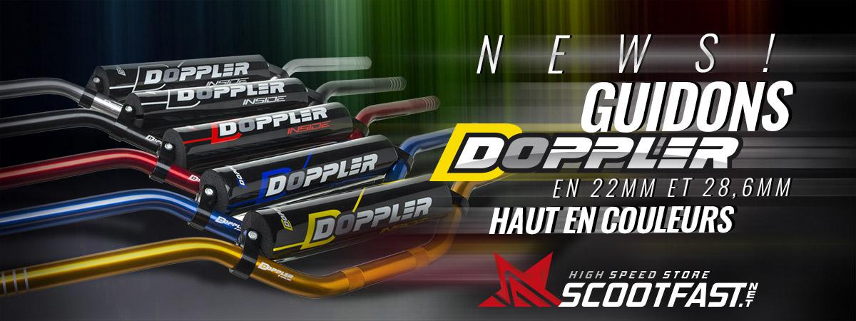 image de présentation des nouveaux guidons motos et pit bike Doppler