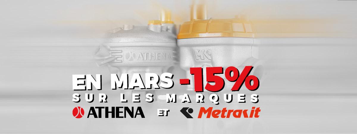Image de présentation de la promotion le mois Athena et Metrakit en Mars