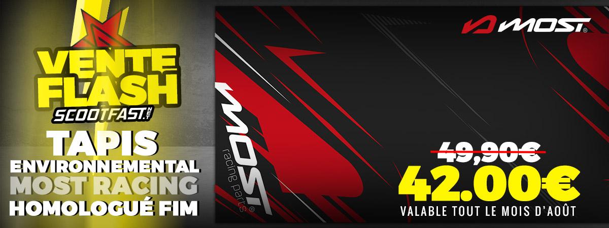 Image d'annonce de la vente flash des tapis motocross environnementaux Most racing