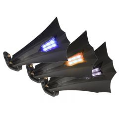 Protège mains Replay XRun 6 LEDS bleu, orange ou blanc