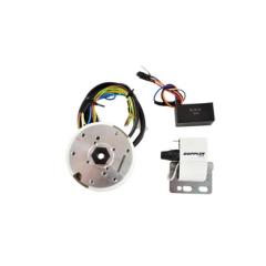 Allumage Doppler rotor interne avec lumière scooter Piaggio 50cc