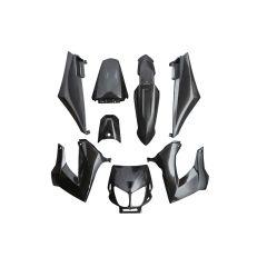 Kit carénage Replay Derbi Senda Xrace / Xtreme noir