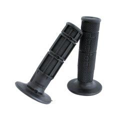 Poignée Domino Cross-Enduro Noire