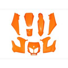 Kit carénage Replay Derbi Senda Xrace / Xtreme orange