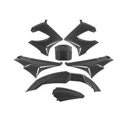 Kit carénage TNT Derbi Senda Xrace / Xtreme noir