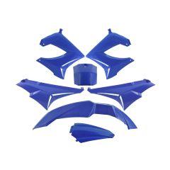 Kit carénage TNT Derbi Senda Xrace / Xtreme bleu