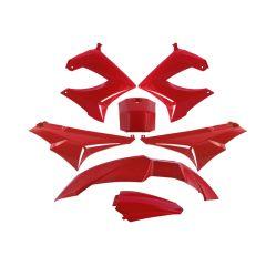 Kit carénage TNT Derbi Senda Xrace / Xtreme rouge
