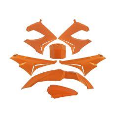 Kit carénage TNT Derbi Senda Xrace / Xtreme orange