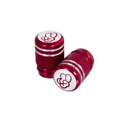Bouchon de valve Tun'R To Cool Molete Rouge