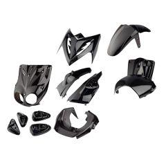 Kit carénage Tunr MBK Stunt Raptor noir