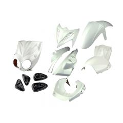 Kit carénage Tunr MBK Stunt Raptor blanc