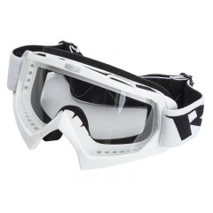 Masque Cross RC Steel Blanc