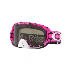 Masque Cross Oakley O Frame 2.0 MX Troy Lee Designs Faded Dot rose écran fumé