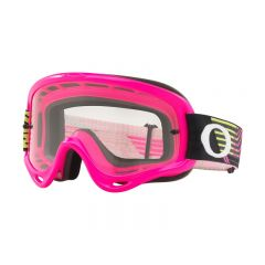 Masque Cross Oakley O Frame MX Circuit rose et vert
