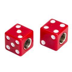 Bouchon de valve Casino Rouge