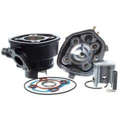 Kit cylindre 70cc Barikit Fonte Racing MBK Nitro et Yamaha Aerox