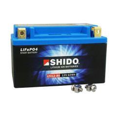 Batterie Lithium Shido LTX12-BS 12V 4Ah