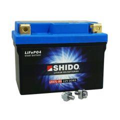 Batterie Lithium Shido LTX7L-BS 12V 2.4 Ah