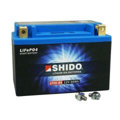 Batterie Lithium Shido LTX9-BS 12V 3Ah