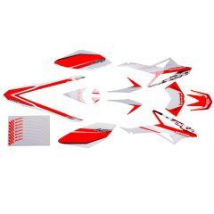 Kit déco origine Beta RR après 2011 rouge