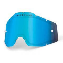 Écran de masque 100% ventilé Miroir Bleu