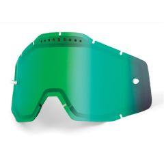 Écran de masque 100% ventilé Miroir Vert