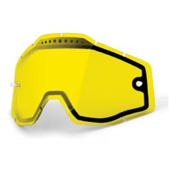 Écran de masque 100% ventilé Transparent Jaune