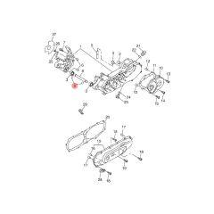 Circlips 15mm axe moteur origine MBK Booster