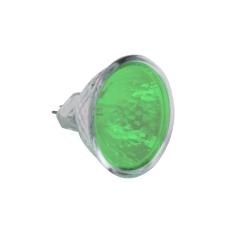 Ampoule Tun'R Dichroïque Halogène 12V 20W Ø50 VERT