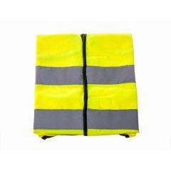 Gilet de sécurité jaune réfléchissant taille XL