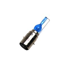 Ampoule 12V 35/35W Norme S2 Culot BA20D Type Xenon Super Bleu