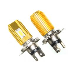 Ampoule LED 12V 6000K H4 12000 Lumens