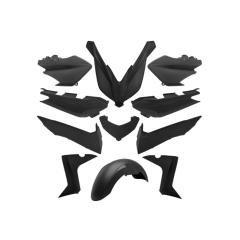 Kit carénage 11 pièces Type Origine Yamaha XMAX 2014 à 2017 Noir Mat