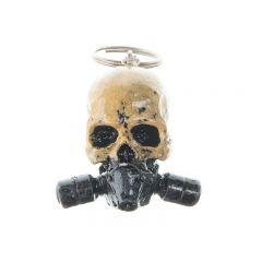 Porte clés Skull Masque à gaz