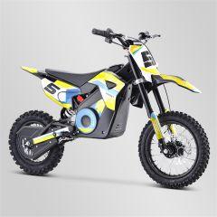Dirt Bike minicross enfant Apollo RXF Rocket 1000W jaune 2021 électrique