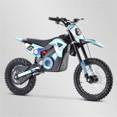 Dirt Bike minicross enfant Apollo RXF Rocket 1300W bleu 2021 électrique
