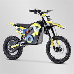 Dirt Bike minicross enfant Apollo RXF Rocket 1300W jaune 2021 électrique