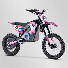 Dirt Bike minicross enfant Apollo RXF Rocket 1300W rose 2021 électrique