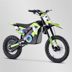 Dirt Bike minicross enfant Apollo RXF Rocket 1300W vert 2021 électrique