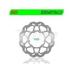 Disque de frein avant NG Derbi DRD X-Treme R/SM 2011-> (d.260) Wavy