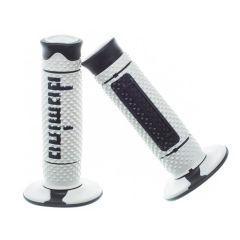 Revêtement de poignée Domino A260-Blanc/Noir