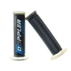 Poignée Doppler gel GP noir / bleu