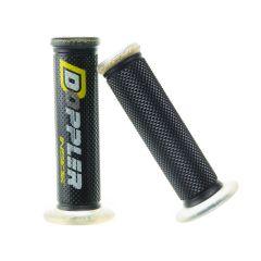 Poignée Doppler gel GP noir / jaune