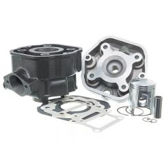 Kit cylindre 50cc Doppler Fonte Derbi Euro 2 piston Vertex