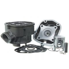 Kit cylindre 50cc Doppler Fonte Derbi Euro 3 et 4 piston Vertex